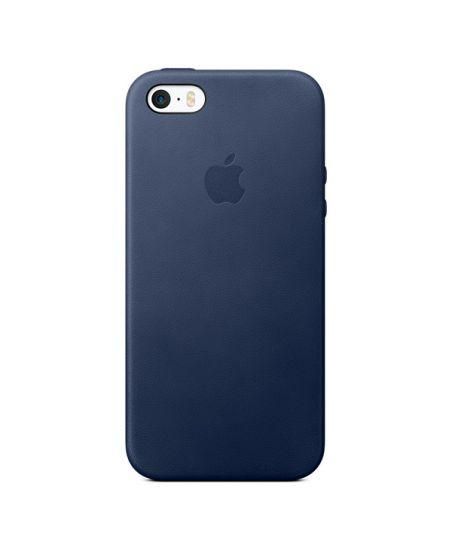 Чехол для iPhone Apple iPhone SE Leather Case Midnight Blue